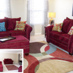 Ruby Living Room Decor