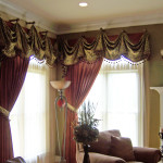 Custom Living Room Drapes
